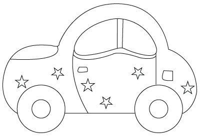 toy car drawing side view save our oceans
